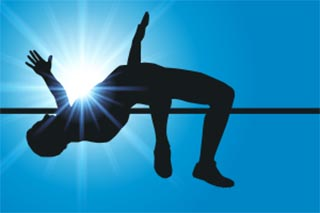 pole vaulting athlete, sports hypnosis for top performance in Vancouver BC